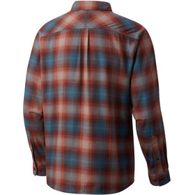 Columbia Silver Ridge overhemd en blouse lange mouwen Heren roze/blauw